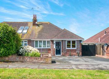 Thumbnail 3 bedroom semi-detached bungalow for sale in Summerlands Road, Willingdon, Eastbourne