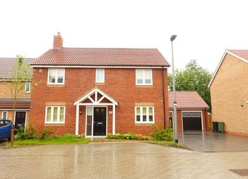 Thumbnail 4 bed detached house to rent in Bedgebury Place, Kents Hill, Milton Keynes