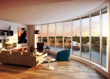 Thumbnail 3 bed flat for sale in Chelsea Vista The Cascades, London