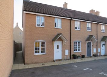 Thumbnail 2 bed end terrace house for sale in Oak Lane, Kings Cliffe, Peterborough