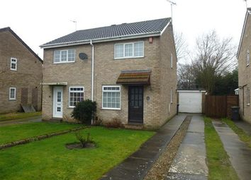 Thumbnail 2 bedroom semi-detached house for sale in Troutbeck, Woodthorpe, York