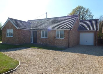 Thumbnail 3 bed bungalow to rent in Morley Road, Attleborough