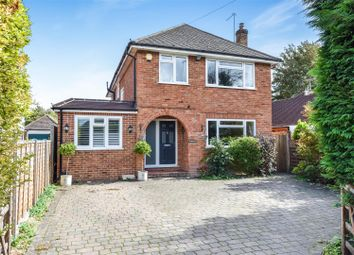 Thumbnail 4 bed detached house for sale in Bagshot Road, Knaphill, Woking