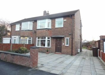 Thumbnail 3 bed semi-detached house for sale in Ashwood Avenue, Denton, Tameside