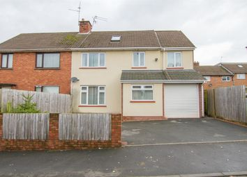 Thumbnail 5 bedroom semi-detached house for sale in Gaerwen Close, Llanishen, Cardiff