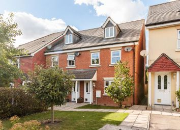 Thumbnail 4 bed semi-detached house for sale in Colvin Close, Andover