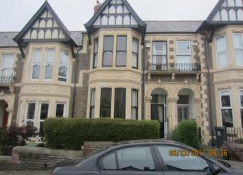 Thumbnail 4 bed terraced house to rent in Ty-Draw Place, Roath, Cardiff