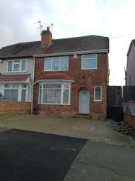 Thumbnail 3 bed semi-detached house to rent in Runnymede Road, Sparkhill, Birmingham