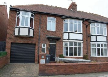 Thumbnail 4 bed semi-detached house to rent in Percy Park Road, Tynemouth, North Shields