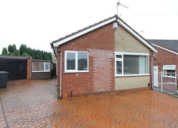 Thumbnail 2 bedroom detached bungalow to rent in Sunningdale Grove, Newcastle-Under-Lyme