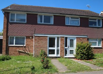 Thumbnail 3 bed semi-detached house to rent in Broome Grove, Colchester