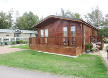 Thumbnail 2 bed lodge for sale in The Rowans, Routh, Beverley