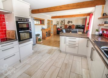Thumbnail 4 bed detached bungalow for sale in Cromer Road, Mundesley, Norwich