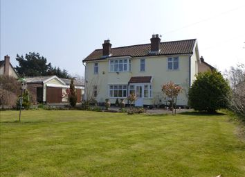 Thumbnail 3 bed detached house for sale in Long Stratton Road, Forncett St. Peter, Norwich