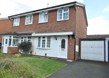 Thumbnail 2 bed semi-detached house for sale in Sparrey Drive, Birmingham
