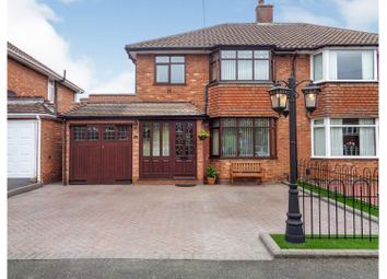 Thumbnail 3 bed semi-detached house for sale in Henley Crescent, Solihull
