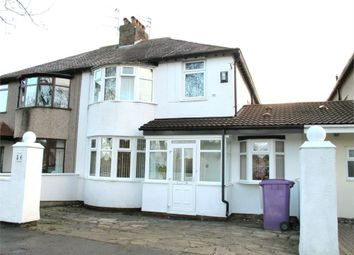 Thumbnail 3 bed semi-detached house for sale in Thingwall Road, Wavertree Garden Suburb, Liverpool, Merseyside