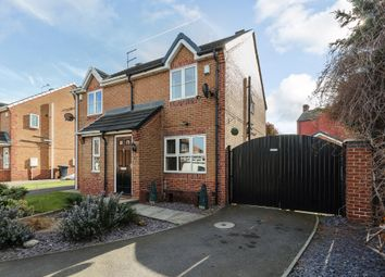 Thumbnail 2 bed semi-detached house for sale in Ashwell Grove, Rotherham