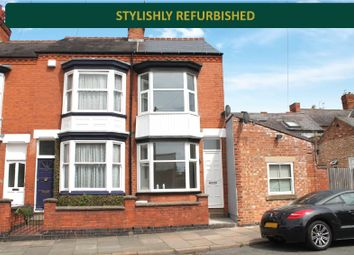 Thumbnail 3 bedroom terraced house for sale in Lorne Road, Clarendon Park, Leicester