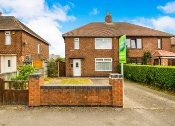 Thumbnail 3 bed semi-detached house for sale in Central Avenue, Blidworth, Mansfield