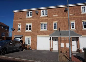 Thumbnail 3 bed town house for sale in Mill Place, Castleford