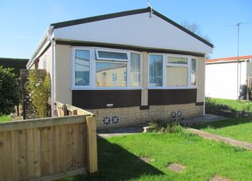 Thumbnail 3 bed mobile/park home for sale in Hillview Park, Oare Pewsey, Wiltshire