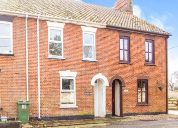 Thumbnail 2 bedroom terraced house for sale in West End, Northwold, Thetford