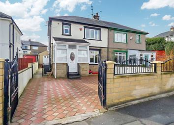 Thumbnail 3 bed semi-detached house for sale in Carlton Grove, Bradford