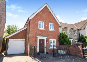 Thumbnail 3 bed semi-detached house for sale in Bergamot Close, Red Lodge, Bury St. Edmunds