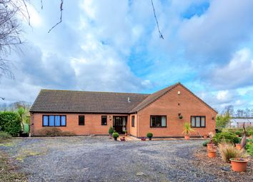 Thumbnail 4 bed detached bungalow for sale in Straight Drove, Farcet, Peterborough