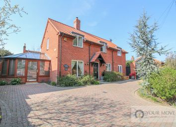 Thumbnail 4 bed detached house for sale in South Road, Beccles