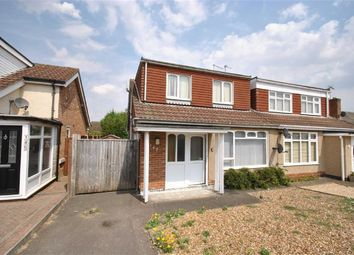 Thumbnail 2 bed semi-detached bungalow for sale in Park Lane, Duston, Northampton