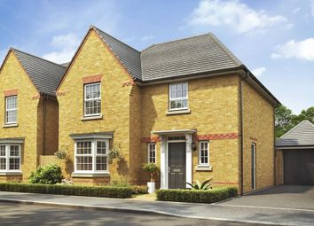 "Thumbnail 4 bed detached house for sale in ""Shenton"" at Pye Green Road, Hednesford, Cannock"