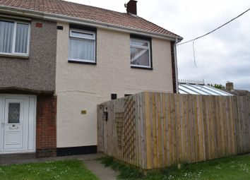Thumbnail 3 bed semi-detached house for sale in Bolam Drive, Ashington