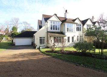 Thumbnail 4 bed semi-detached house for sale in High Broom Road, Crowborough, East Sussex