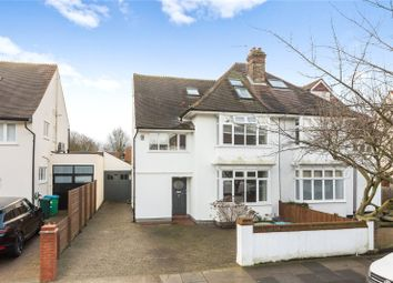Thumbnail 5 bed semi-detached house to rent in Suffolk Road, Barnes, London