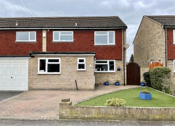 Thumbnail 3 bed semi-detached house for sale in Wolsey Road, Sunbury-On-Thames