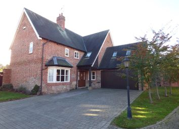 Thumbnail 5 bed detached house to rent in Hall Gardens, Church Lane, Hemington, Derby