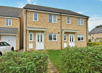 Thumbnail 2 bedroom semi-detached house for sale in Wellbrook Way, Girton, Cambridge