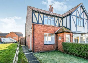 Thumbnail 2 bed semi-detached house for sale in Scarborough Road, Malton