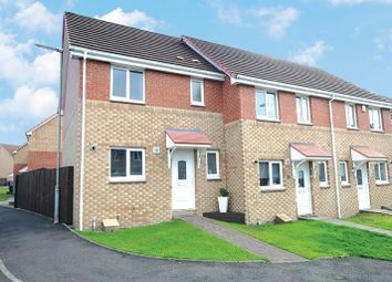 Thumbnail 3 bed end terrace house for sale in Strachur Place, Glasgow