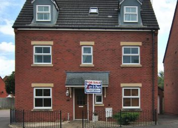Thumbnail 4 bedroom detached house for sale in Windfall Way, Longlevens, Gloucester