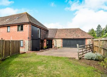 Thumbnail 4 bedroom barn conversion for sale in The Street, Willesborough, Ashford, Kent