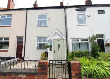 Thumbnail 3 bed cottage for sale in Leigh Road, Worsley, Manchester