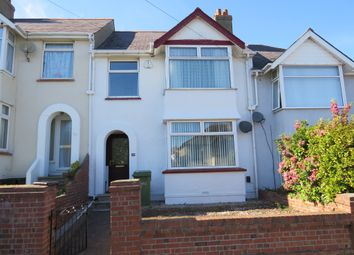 Thumbnail 3 bed terraced house for sale in Marldon Avenue, Paignton