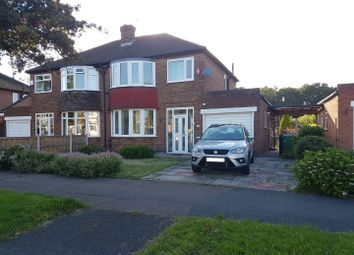 Thumbnail 3 bed semi-detached house to rent in Peel Hall Road, Manchester