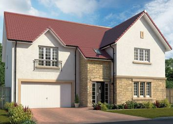 "Thumbnail 5 bedroom detached house for sale in ""The Moncrief"" at Roman Road, Balfron, Glasgow"