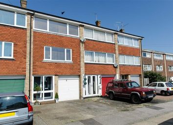 Thumbnail 3 bed town house to rent in Beverley Close, Rainham, Gillingham