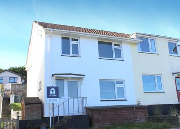 Thumbnail 3 bed semi-detached house for sale in Anderton Rise, Millbrook, Torpoint