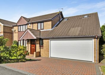 Thumbnail 5 bed detached house for sale in Ross, Ouston, Chester Le Street